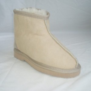 Short Centre Stitch Kids Boots